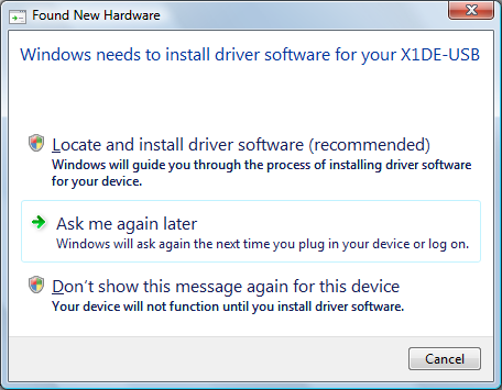Digitally signed driver disable